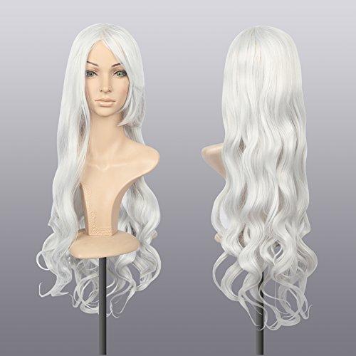 comprar pelucas mujer blanco plateado on line