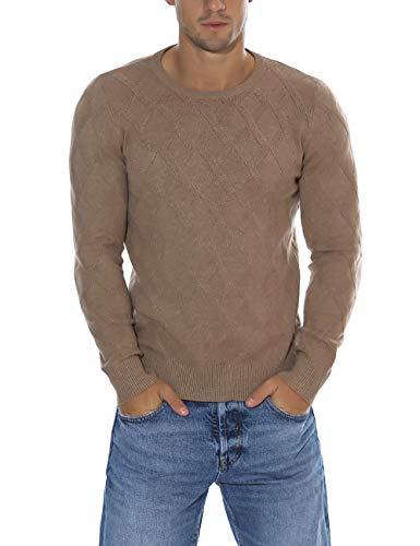 Men's Vintage Shetland Wool Sweater Full Zip