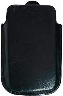 Kroo BARE Premium Leather Case Designed for Apple iPhone 3G/3GS - Galaxy Black