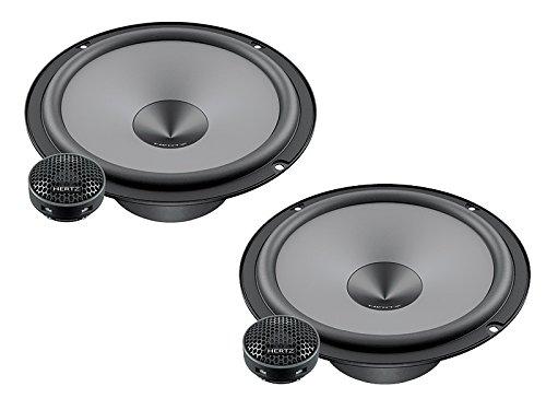 Hertz Lautsprecher 600W 16,5cm K165 Kompo incl Einbauset für Mercedes E Klasse T Modell W211