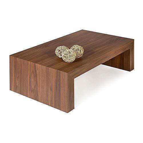 Mobili Fiver, Tavolino da Salotto, First H30, Noce Canaletto, 90 x 54 x 30 cm, Nobilitato, Made in Italy, Disponibile in Vari Colori