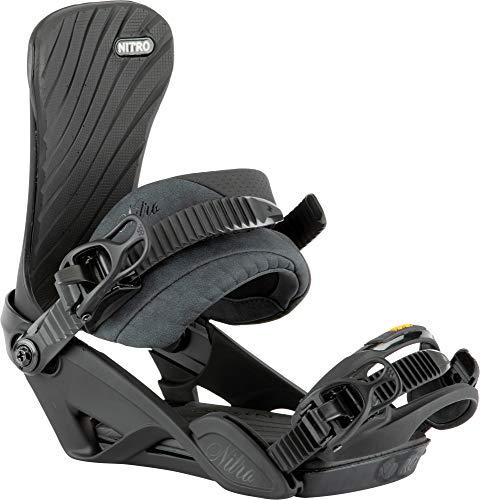 Nitro Damen IVY BDG´21 Snowboardbindung, Ultra Black, S/M