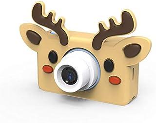子供用デジタルカメラ 子供用カメラ ミニカメラ トイカメラ 1600万画素 2.0インチIPS画面 4倍ズーム 16GB SDカード付き 写真動画連続撮影 日本語操作画面 かわいい シリコンケース 子供プレゼント トナカイ