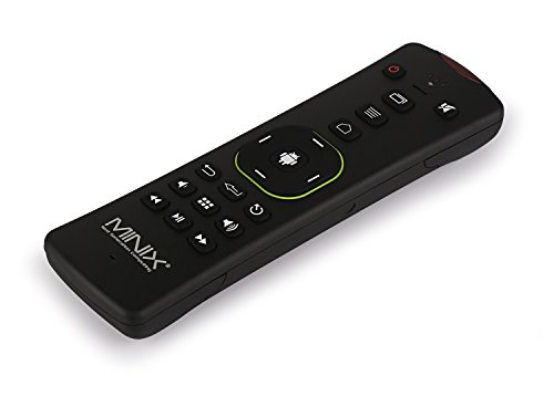 MINIX NEO A2 Lite, QWERTY Keyboard only Compatible with Our Range of MINIX Media Hubs for Android and Six-Axis Gyroscope Remote. Sold Directly by MINIX Technology Limited.Black