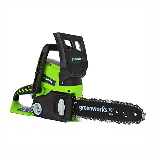 Greenworks 24V Cordless Chainsaw, 2.0 AH Battery Included, 20362