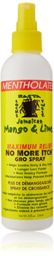Jamaican Mango & Lime No More Itch Gro Spray 296ml