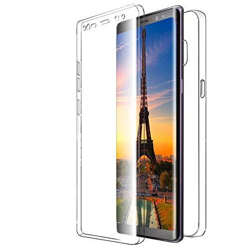 United Case Funda De Cubierta Completa para Samsung Galaxy J8 (2018)   Clear TPU Cover Claro
