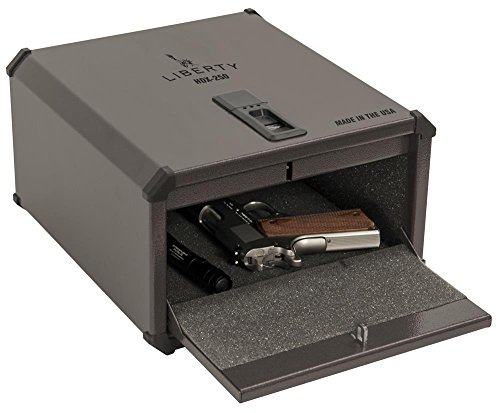 6. Liberty HDX-250 Smart Vault Biometric Safe - Safely secure your valuables or handgun in the new Home Defender