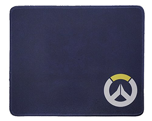 12x10 Inch Overwatch Black Speed Soft Gaming Mouse Pad for Gamers