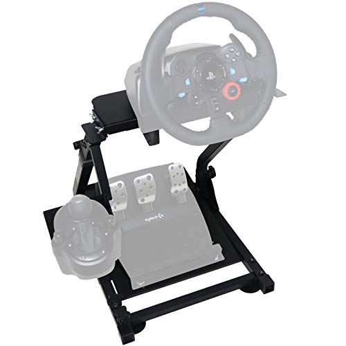 VEVOR G29 Racing Steering Wheel Stand G920 Racing Wheel Stand fit for Logitech G27/G25/G29 Gaming Wheel Stand,Wheel Pedals NOT Included
