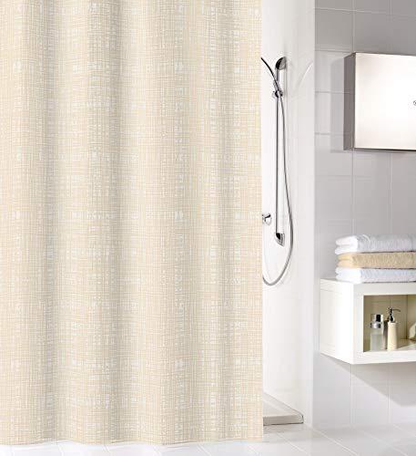 Kleine Wolke linnen douchegordijn, 100% polyester, bastic, 180x200 cm