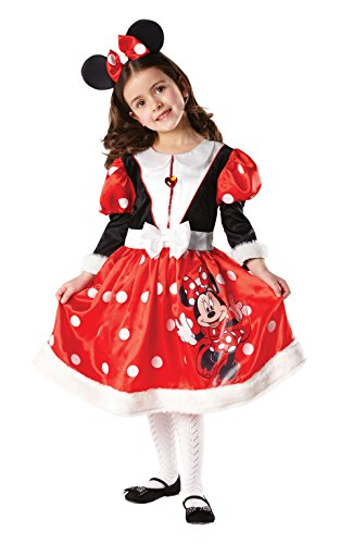 Rubbies - Disfraz de Minnie Mouse para nia, talla M (5-6 aos) (881872M)