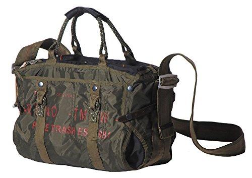 sac à main, grande,nylon 'PT', kaki