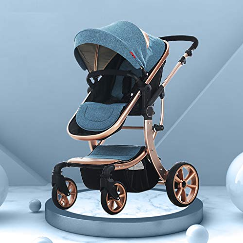 Best Review Of STRR Baby Carriage, Convertible Reclining Stroller, Foldable and Portable Pram Carria...