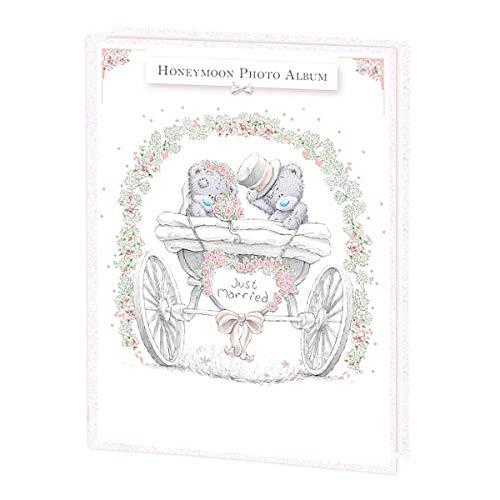Momento Special Tatty Teddy Bear - Álbum de fotos (15,2 x 10,1 cm), diseño de luna de miel