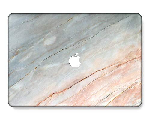 GangdaoCase Carcasa rígida de plástico ultra delgada para MacBook Pro de 13 pulgadas con/sin barra táctil/Touch ID A2338 M1/A2289/A2251/A2159/A1989/A1706/A1708 (mármol A 253)