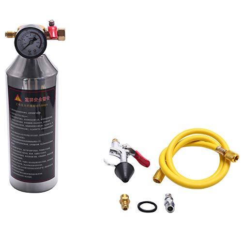 Baalaa Botella de limpieza de tubos de aire acondicionado para coche A/C Kits de descarga para herramienta limpia