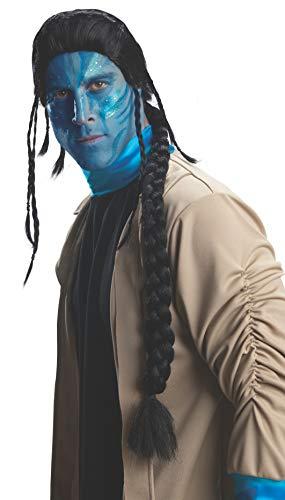 Avatar Jake Sully Wig, Black, One Size