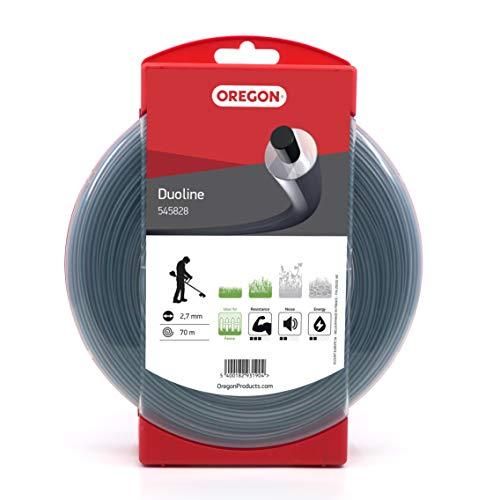 Oregon 545828 Duoline Mähfaden mit rundem Querschnitt,2,7mm,70 m, in benutzerfreundlichem Spender verpackt