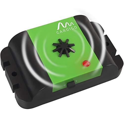 Gardigo - 78480 Repellente Ultrasuoni Mobile a batteria per allontanare cani, gatti, martore, donnola e faina, Dissuasori per macchina, casa e garage