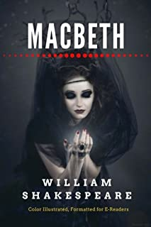 Macbeth: Color Illustrated, Formatted for E-Readers