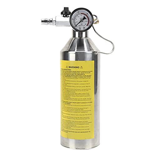 Botella de Limpieza de tuberías, Larga Vida útil, procesamiento Profesional, Botella de Lavado de tuberías, pequeña y Liviana para Redes de enfriamiento para tuberías de Combustible