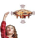 HONYAO Mini Drone Juguete para niños, RC UFO Helicóptero...