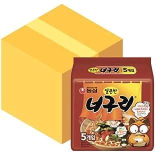 Customer reviews Nongshim Neoguri Ramyun Seafood & Spicy 120g (Pack of 40)