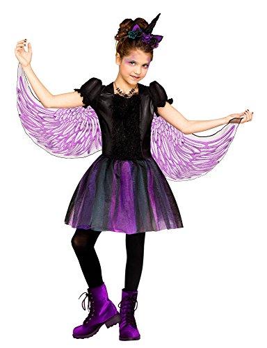 Fun World Moonlight Unicorn Costume, Large 12 - 14, Multicolor