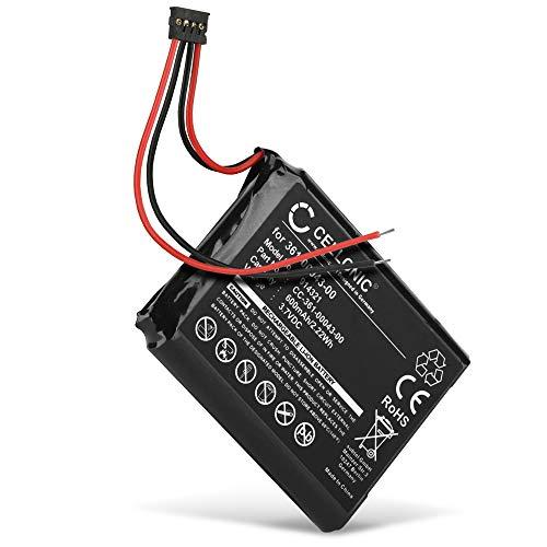 CELLONIC® Batería de Repuesto 361-0043-00 361-0043-01 Compatible con Garmin Edge 820, 520, 500, 205, 200 / Edge Explore 820, 600mAh Accu GPS Pila sustitución Battery