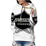 Tstyrea Swisher Sweets,Women's Athletic Pullover Hooded Sweatshirt XL