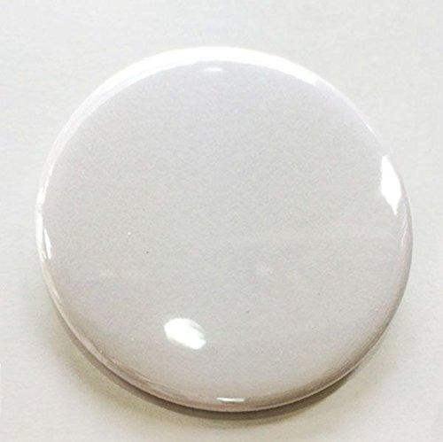 無地缶バッジ 特大サイズ(76mm) クリップピン