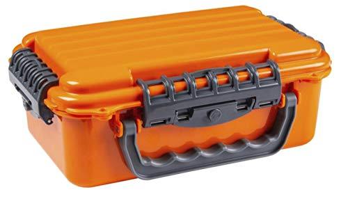 Caja flotante impermeable de ABS grande, color naranja