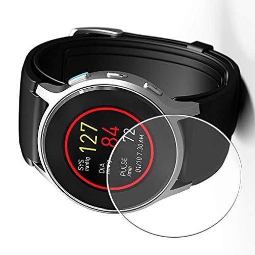 Vaxson 3 Stück 9H Panzerglasfolie, kompatibel mit Omron HeartGuide Smartwatch Hybrid Watch, Panzerglas Schutzfolie Displayschutzfolie