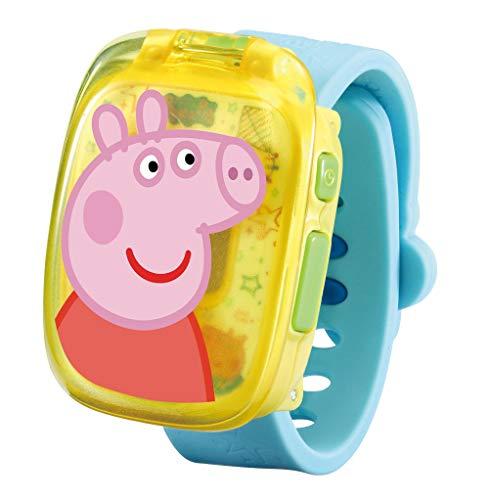 VTech - Peppa Pig - Learning Watch - Klok, wekker, stopwatch, timer en 4 spellen - Stevig en duurzaam design - Leeftijd: 3 - 6 jaar