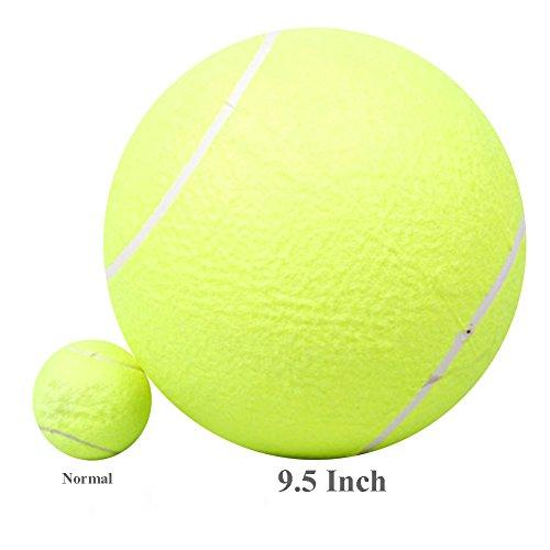 Vanpower Hundebälle in XXXL-Größe, großer Tennisball für Hunde- und Welpentraining, 24cm