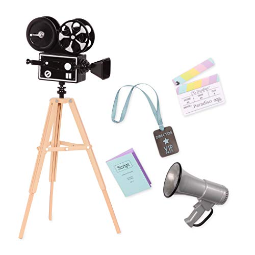 Our Generation Camera's Rolling Accessory Set
