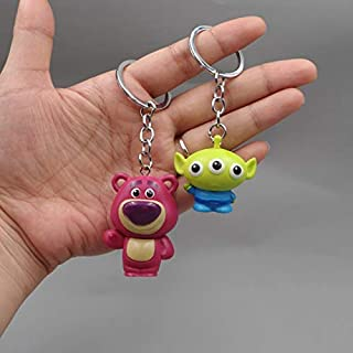 TANGGOOO 4 Action Figure Figures Keychain Mini Bear Pig Dragon Models Collection Figurine Kids Toy Thing You Must Have Gift Ideas Favourite Movie Superhero Cupcake Toppers UNbox Toys