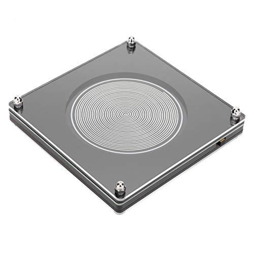 Generador de Ondas de 7.83HZ, Generador de Pulsos de Frecuencia Ultrabaja de Resonancias Schumann, Sleep Aid ABS Silver, FM783, con Diseño de Circuito Recientemente Optimizado