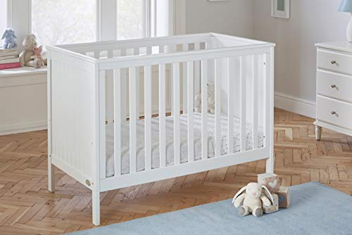 Baby Snooze - Modern Space Saver Mini cot Bed - converts to a Toddler Bed and Sofa Bed
