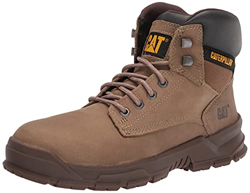 Caterpillar Men's MOBILIZE Alloy Toe Industrial Boot, Fossil, 9