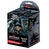 WizKids Dungeons and Dragons: Icons of The Realms: Monster Menagerie 3 - Pre Painted Plastic Figures Booster Box [並行輸入品]