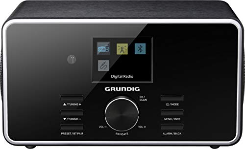Grundig DTR 4500 DAB+ Digital Radio schwarz