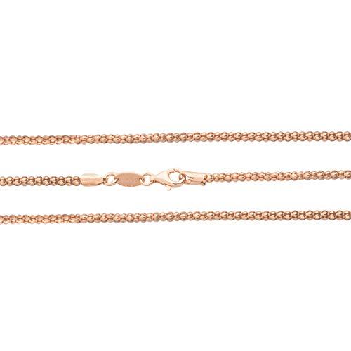 MY iMenso DIABOMBA halsketting zilver roséverguld 45 cm 27-0025-45