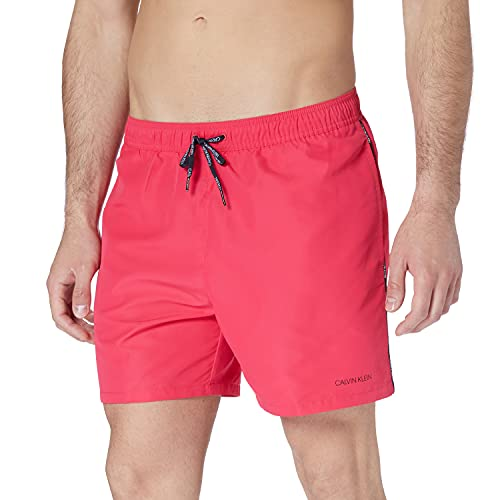 Calvin Klein Medium Drawstring Baador para Hombre, Corazón Rosa 3, M