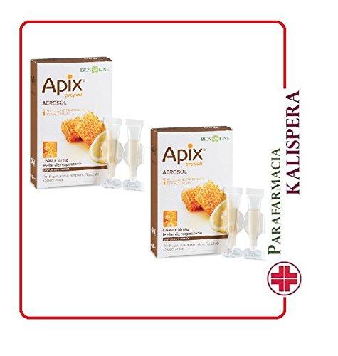 2 APIX PROPOLI AEROSOL 10 FIALE MONODOSE DA 2ML Con Propoli e semi di Pompelmo