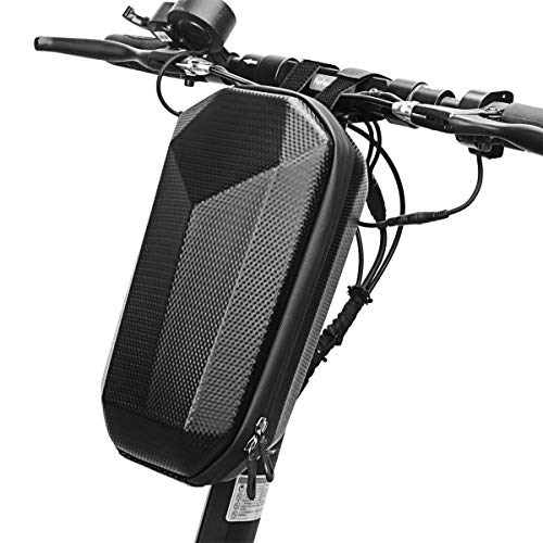 DOMELI Bolsa de Almacenamiento de Scooter, Bolsa de Manillar de Bicicleta E-Bike, Bolsa de Colgante Delantera