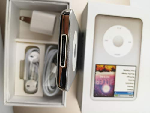 Original AppleiPod Compatible for mp3 mp4 Player Apple iPod Classic 7th gen 120GB Silver
