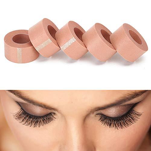 5pcs bande d'extension de cils non-tissé tissu respirant greffage bande de cils outils d'extension de cils 2 tailles(2.5cm)