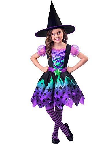 Disfraz de Halloween para niña de encantadora bruja de Amscan